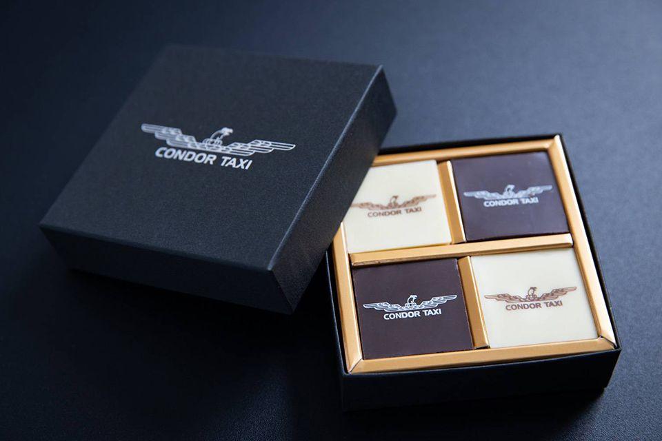 フランス「KAOKA」社とコンドルタクシーがコラボした特製チョコレート